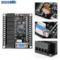 DC 24V PLC Regler FX1N-20MR Industrie Control Board Motor Geschwindigkeit Regler Relais Programmable Logic Controller Schwarz