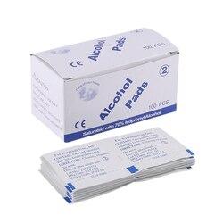 60 шт./лот, салфетка для протирания алкоголя, медицинский тампон, саше, антибактериальное средство, моющее средство, влажные салфетки