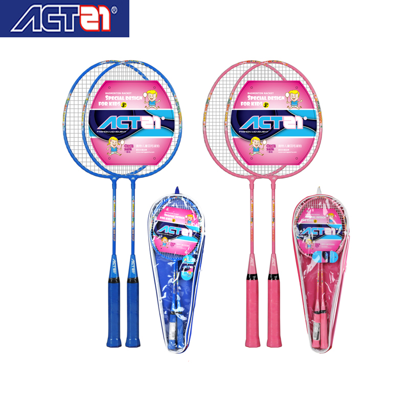 ACTEI Badminton Rackets For Children, Happy Growth Accompanied By Sports, There Are Vitality And Characteristics Of The Racket