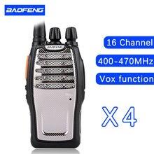 (4 PCS)BaoFeng UHF Walkie Talkie BF-A5 16CH VOX+Scrambler Function Free Shipping Two Way Radio baofeng A5