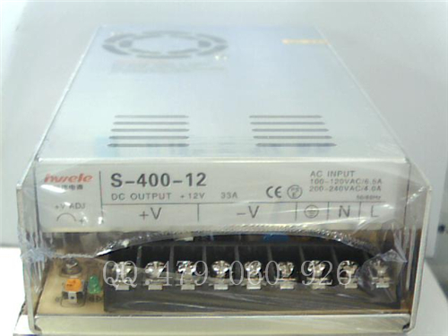 [ZOB] Heng Wei 12V33A S-400-12 switching power supply [zob] heng wei switching power supply s 350 24 24v14 6a
