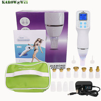 12 Tip Facial Care Beauty Device Skin Diamond Dermabrasion Removal Scar Acne Pore Machine Care Massager