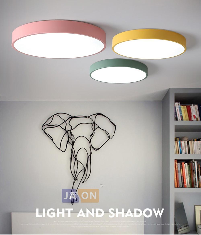 HTB1yJb9XRiE3KVjSZFMq6zQhVXaK LED Modern Acryl Alloy Round 5cm Super Thin LED Lamp.LED Light.Ceiling Lights.LED Ceiling Light.Ceiling Lamp For Foyer Bedroom