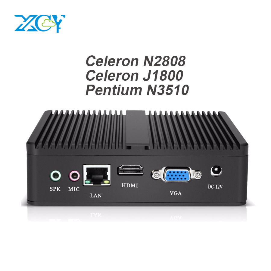 Cheapest Mini PC Computer Intel Celeron N2808 N2810 Dual-cores 2.00GHz Windows 10 Pentium N3510 Mini Computer USB VGA HDMI WIFI mini pc desktop intel celeron n2808 dual cores office computer htpc 2 hdmi 6 usb hd graphics zero noise windows 10