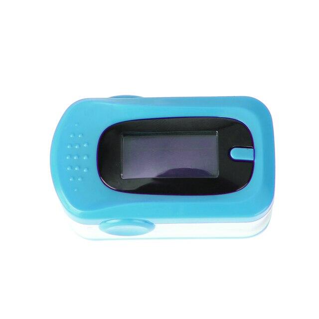 T2N2 Professional Medical Home OLED Fingertip Oximeter Blood Oxygen SPO2 Heart Rate PR Monitor Cardiotachometer (Blue)