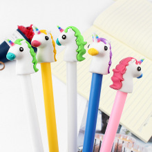 36 Pcs / Set gel pen unicorn lapices Cute animal caneta kalem Kawai stationery pens boligrafo school tools stylo canetas 4 pcs set gel pen cat caneta kawaii pens for school animal stationary canetas school supplies lapices tinta gel stylo