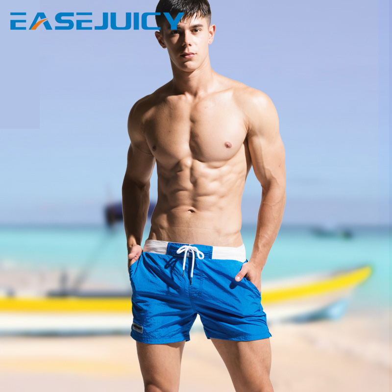 Men's bathing suit   board     shorts   swimsuit joggers liner sexy swimwear beach   shorts   briefs surfboard pus size mesh
