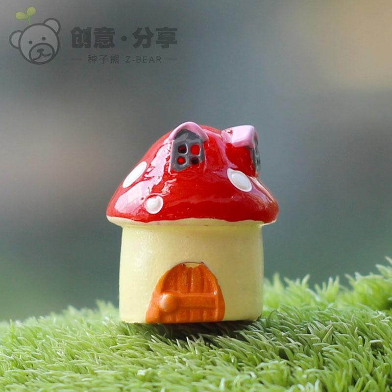 Aliexpresscom Buy 50pcslot Fairy garden gnome resin mushroom