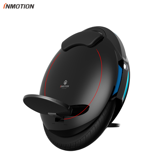 INMOTION Updated V5F Electric Unicycle Monowheel Onewheel Selfbalancing Scooter EUC With  Decorative Lamps