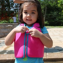 Kids  Life Vest Swim Buoyancy Vest Solid Color Drifting Snorkeling Floating Suit Child Life Jacket Swimming Pool Accessories A цена 2017