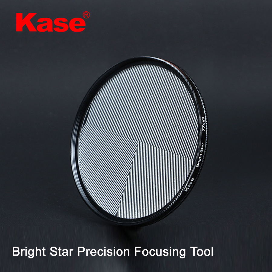 Kase 77mm/82mm Bright Star Precision Assist Focusing Tool Optical Glass Lens Filter Natural Night View Starry Sky Photography светофильтр fujimi star 6 77mm