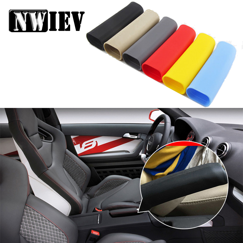 NWIEV Car Hand Brake Grips Covers For Mazda 3 6 Opel Astra J G Insignia Vectra C Peugeot 307 206 308 407 207 3008  Accessories
