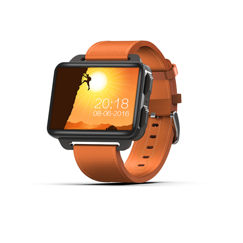 Kuddly DM99 Android 5.1 Smart Watch with MTK6580 1GB RAM 16GB ROM SIM WCDMA 3G Wristwatch Heart Rate GPS WiFi Watch Men
