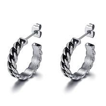 cf908a1b7b03 VE168 Vintage cadena pendientes para las mujeres un par de acero inoxidable  pendiente de nueva moda de mujer regalo de accesorio.