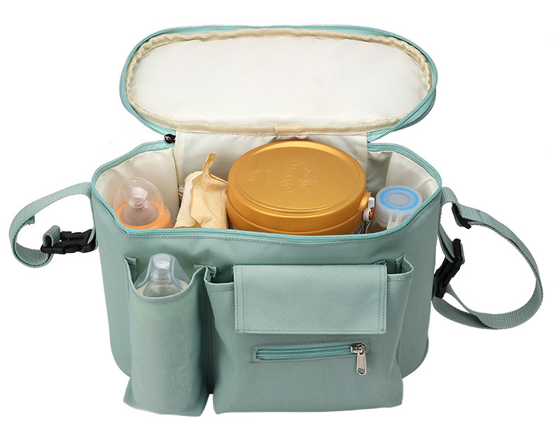 HTB1yJcma.GF3KVjSZFvq6z nXXas SeckinDogan Baby Stroller Bag Large Capacity Diaper Bags Outdoor Travel Hanging Carriage Mommy Bag Infant Care Organizer