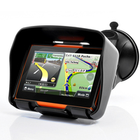 Portable 4.3 Touch Motorcycle GPS Navigation IPX7 Waterproof GPS Bluetooth FM AVIN built in 8GB Free Maps