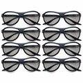 8 pcs substituição ag-f310 óculos polarizados passivos óculos 3d para lg samsung sony konka tcl 3d reald cinema computador tv