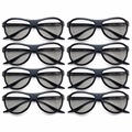 8pcs Replacement ag-f310 3D Glasses Polarized Passive Glasses For LG TCL Samsung SONY Konka reald 3D Cinema TV computer