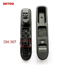 SKTOO (Old)Right Front Power Window Switch For Peugeot Window glass Control switch 2000-2007 307 307CC 307SW Free Shipping sktoo fit for peugeot 307 left front lift switch bracket elevator switch cover shell