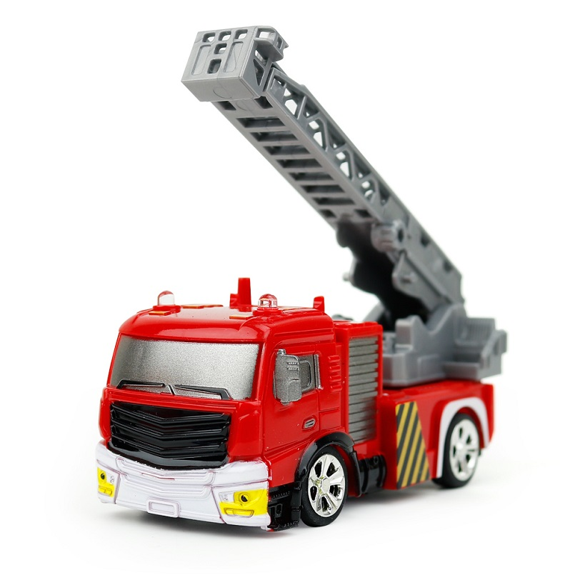 1:58 Remote Control Fire Truck Toys RC Truck Firetruck Juguetes Fireman Sam Vehicles Car Music Light Cool Toys Gifts For Kids