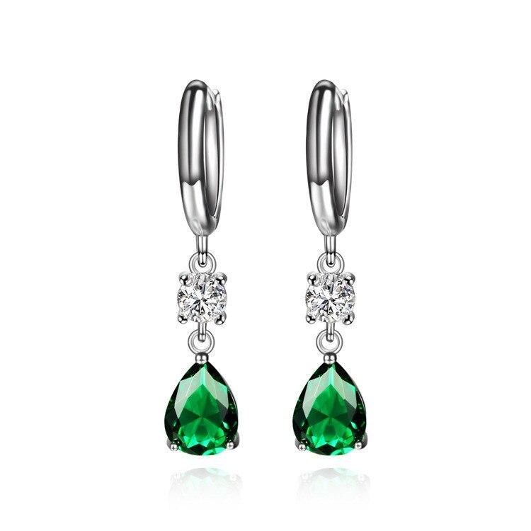 CMAJOR 2017 Earring Jewelry Crystal Long earrings For Women High Quality Trendy earrings with Multicolor Zircon