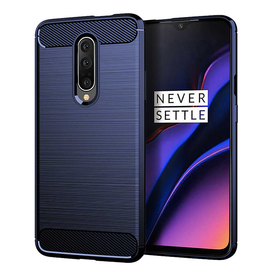 RIJOW Global Cases for Oneplus 7 Case for One plus 7 Back Phone Cover Carbon Fiber Soft TPU Protective for OnePlus 7 Pro Luxury