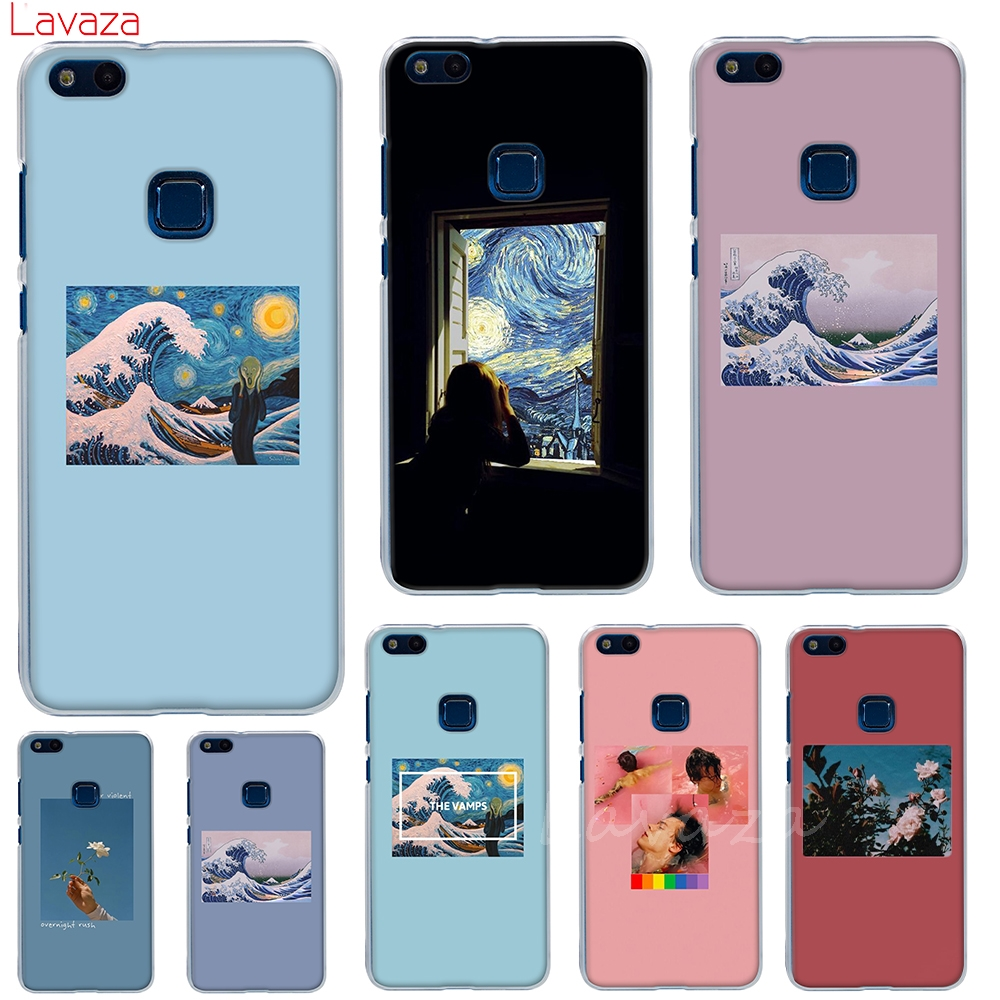 Lavaza Van Gogh Art Spray Hard <font><b>Case</b></font> for Huawei Mate 10 20 <font><b>Lite</b></font> Pro for <font><b>Honor</b></font> 6C 7A Pro 8 <font><b>9</b></font> 10 <font><b>Lite</b></font> 6A 7X 7C 8X Play Cover image