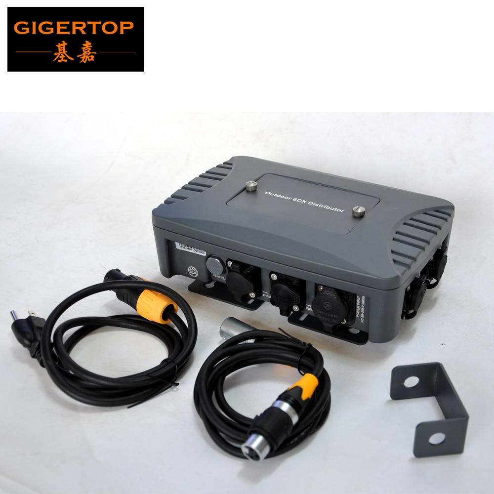 Бесплатная доставка Martin Strobe Light контроллер Box Мини Размеры 3Pin DMX512 Выход оправа флэш Яркость уровень/Скорость регулируемый