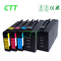 5 Peices 950XL 951XL Compatible Ink Cartridges For HP950 951 For Officejet Pro 8100 8600 8610