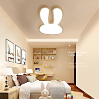 Modern Rabbit Children Bedroom Led Ceiling Lights Restaurant Ceiling Lamp Kindergarten Hanging Light Fixture Free Shipping