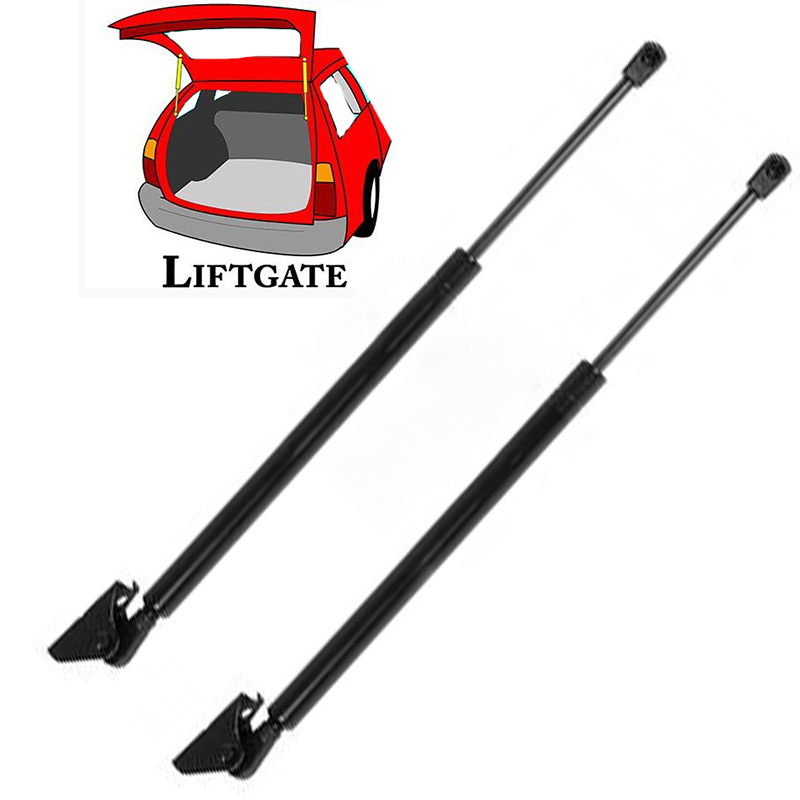 Qty2 For Jeep Grand Cherokee Rear Window Gas Charged Lift Support Struts 15.03/""