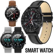 L7 Bluetooth Вызов умный Браслет сердечный ритм кровяное давление кислород мониторинг сна IP68 Водонепроницаемый фитнес-трекер спортивные часы