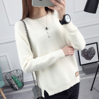 2017 New Winter Jacket Sweater Shirt Korean Female Spring Coat Long Sleeved Pullover Sweater