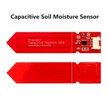 Elecrow 5 sztuk/partia pojemnościowy czujnik wilgotności gleby dla Arduino pomiaru wilgotności gleby czujniki dla DIY inteligentny zestaw podlewania roślin