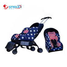Strolex Travel Baby Stroller with Car Seat 5 In 1 Multifunctional ISOfix Child Car Safety Seat Baby Car Seat Stroller 6M~12Y недорого