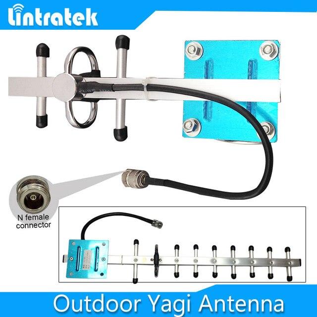 13dbi Яги antenna1710-2170MHz 3 Г ШТ WCDMA GSM Яги наружная антенна 1900 МГц с N кабель с разъемом для CDMA DCS mobile booster