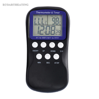 Digital Probe Oven Thermometer Timer Temperature Sensor LCD Meat Thermometer BBQ Temperature Gauge Kitchen Cooking Tools