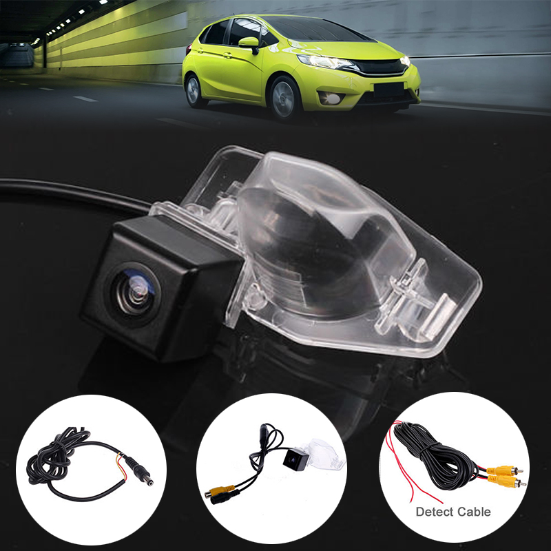 Mayitr Waterproof Car Rear View Reverse Backup Parking Camera NTSC System For Honda CRV FIT Jazz Odyssey