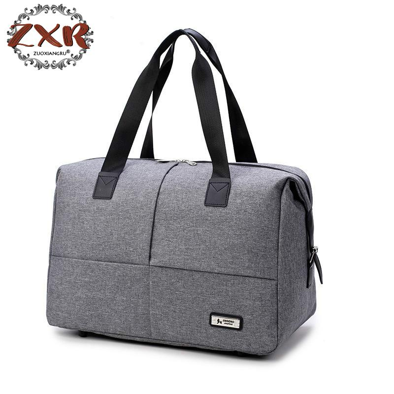 New Brand Casual Fashion Large Mens Waterproof Bags Portable Travel Duffle Handbags bag For Traveling Nylon Handbags