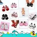 Новый Стиль обувь Носить подходят 43 см Baby Born zapf, дети лучший Подарок На День Рождения CAM-0677