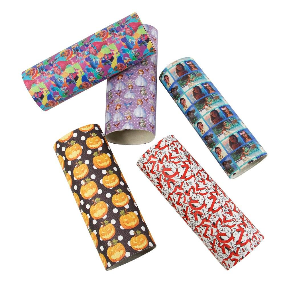 David accessories 20*34 cm tela de cuero sintético para niños tejido ropa de cam