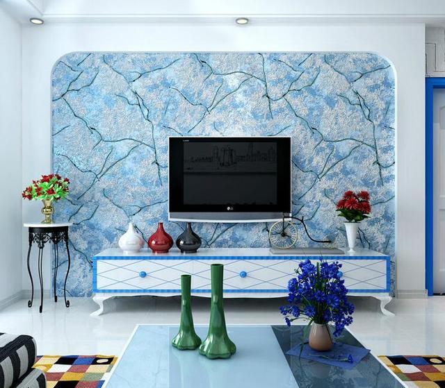 Kontemporer Dan Dikontrak Keluarga 3 D Wallpaper Untuk Dinding Non Woven Tanaman