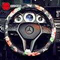 """FULL WERK Cute Creative Cartoon Car Steering Wheel Cover, Durable, Anti-Slip, 15"""" Universal Fit, Four Seasons General"""