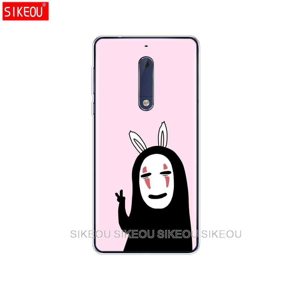 Silikon Sarung Kasus Telepon untuk Nokia 5 3 6 7 Plus 8 9/Nokia 6.1 5.1 3.1 2.1 6 2018 My Neighbor Totoro Anime