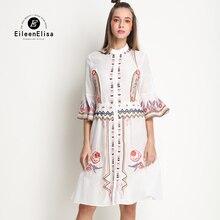 Luxury Dress 2017 Spring Women Runway Dresses