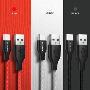 Image 5 - VOXLINK USB Cable de tipo C para xiaomi redmi note 7 USB C móvil Teléfono de carga rápida tipo C Cable para Samsung Galaxy S9 S8 Plus