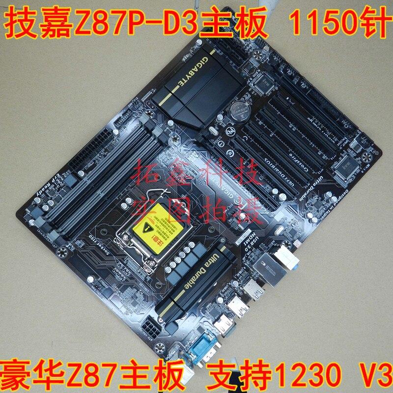 где купить Z87-HD3 1150 pin Z87 motherboard supports E3 1230 V3 дешево