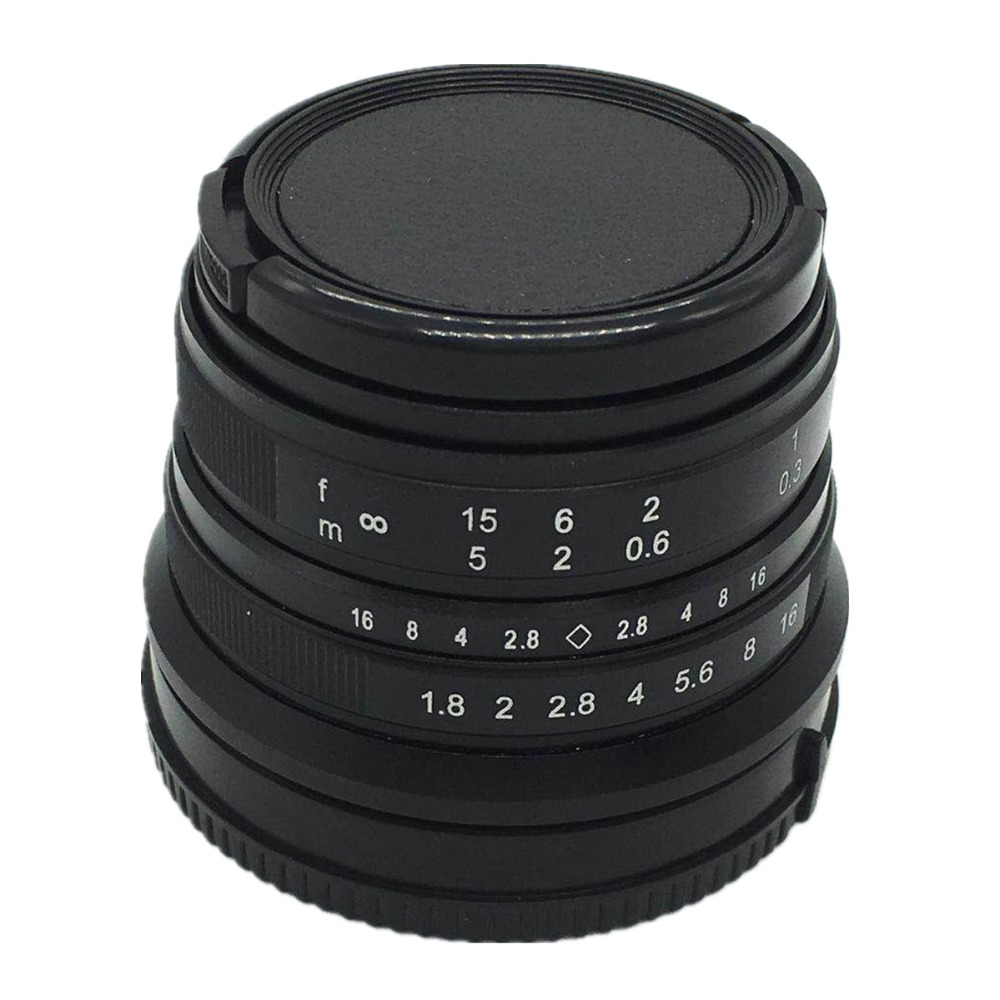 25mm F/1.8 HD MC Manual Focus Wide Angle Lens for Panasonic Micro 4/3 GX80 GX85 G8 G6 G7 GF1/2/3/5/6 GM1/GM5/GM10/GX1/GX7/GX8 rear lens cap cover camera front body cap for panasonic olympus micro 4 3 m4 3 m43 gh3 gh4 g5 g6 g7 g9 gx1 gx7 gx8 gx80 gx85