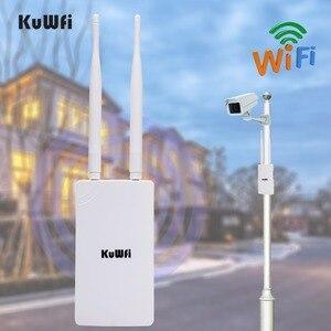 Image 4 - 300Mbps 2.4GHz yüksek güç WiFi tekrarlayıcı WIFI genişletici geniş alan kapalı Wi Fi amplifikatör ile 360 derece yönlü antenler