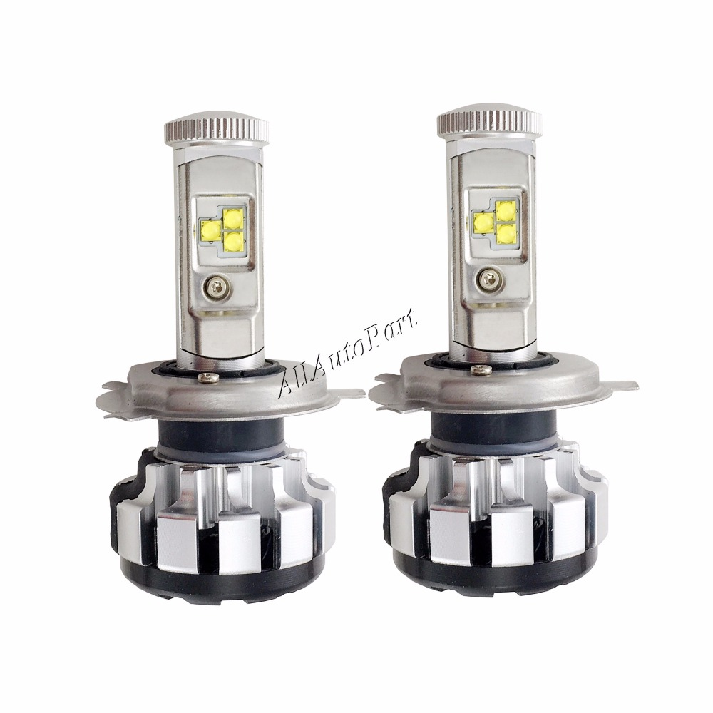 2 pc Automatique H4 LED H7 H11 H8 9006 HB4 H1 H3 HB3 T1s D'ampoules De Phare de Voiture 80 W 8000LM Haute Basse Faisceau Automobiles Lampe 6000 K 3000 K 4300 k